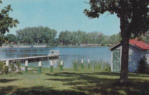 Henderson Lake Pier , LETHBRIDGE , Alberta , Canada , 40-60s