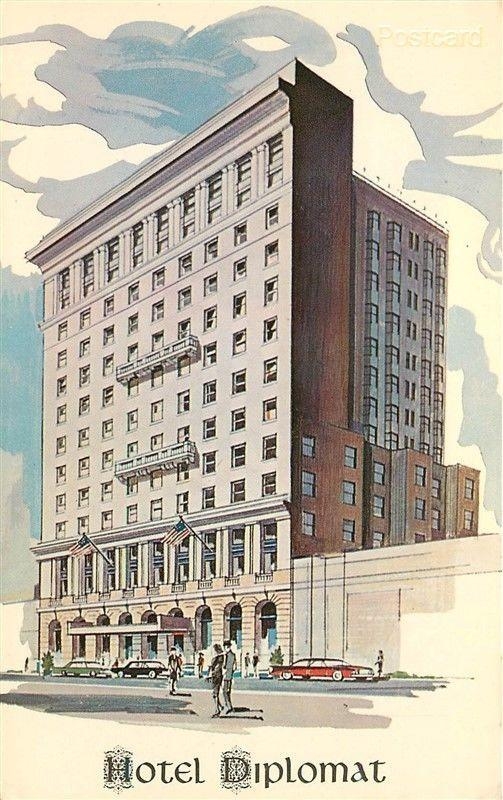 NY, New York City, Hotel Diplomat 108 West 43rd Street