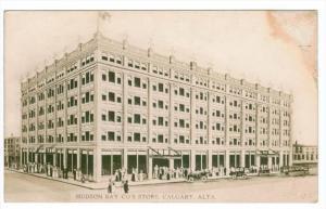 1768 Alberta Calgary Hudson Bay Company Store