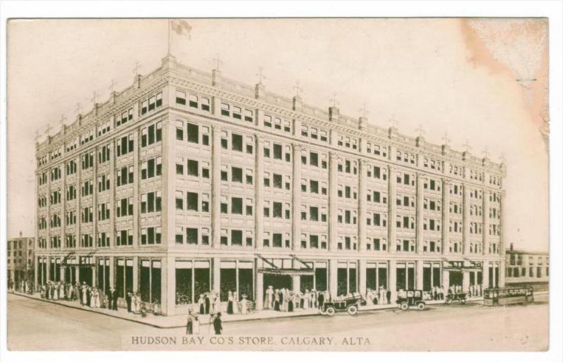 Alberta Calgary Hudson Bay Company Store , RPC