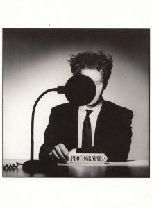 Bernard Matussiere Giant French Radio Microphone Photo Postcard