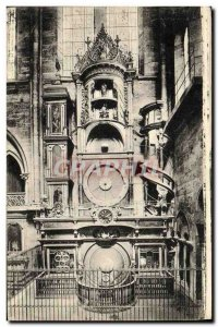 Postcard Old Strasbourg Cathedral The Astronomical Clock