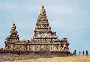 India Shore Temple Mahabalipuram Tempel
