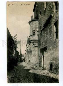191874 FRANCE NEVERS Rue des Ouches Vintage postcard