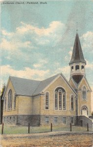 G33/ Parkland Washington Postcard c1910 Lutheran Church Building