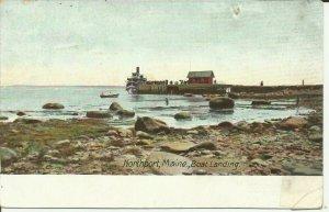 Northport, Maine, Boat Landing