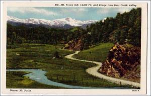 Mt Evans, Denver Mt Parks