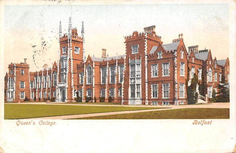 Northern Ireland Belfast Queen's College 1904