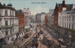 Trolleys In Castle Place Belfast Northern Ireland