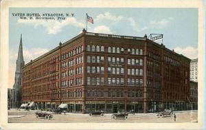 NY - Syracuse, Yates Hotel
