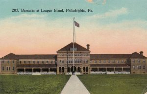 PHILADELPHIA , Pennsylvania , 1900-10s; Barracks at League Island