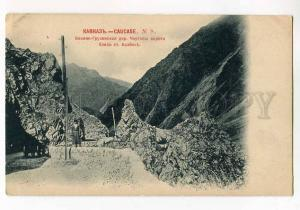 270474 CAUCASUS Georgian Military Road Devil Gate OLD Sherer