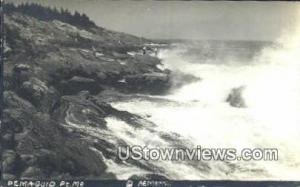 Real Photo Pemaquid Point ME 1937