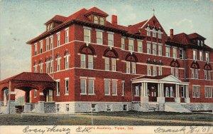 LP42    St John's Tipton Indiana Vintage Postcard Academy