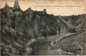 CPA CROZANT Les Ruines - Vallee de la Creuse (1144419)