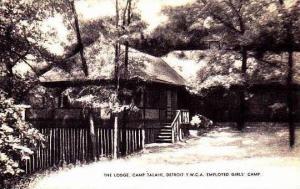 Michigan Camp Talahi The Lodge Detroit Y W C A Camp Artvue