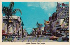 Louisiana New Orleans World Famous Canal Street 1960