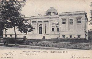 POUGHKEEPSIE, New York, PU-1906; Adriance Memorial Library