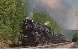 Nickel Plate 759 ~ Berkshire New York State Express Train Rail Railway Postcard