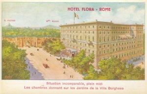 ROME, Italy, 1900-10s; Hotel Flora, S. Pietro, Mte. Mario