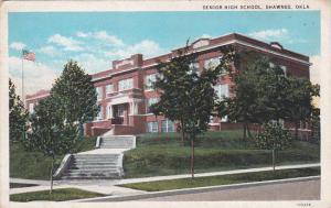 SHAWNEE, Oklahoma, 1900-10s; Senior High School