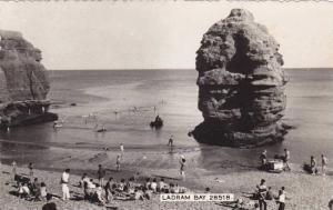 RP, People Bathing, Ladram Bay, Devon, England, UK, 1920-1940s