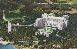 Air view, Castle Harbour Hotel, Tuckers Town, Bermuda,  PU-40-60s