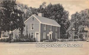 Quincy, Mass, USA Birthplace of John Adams, 2nd President