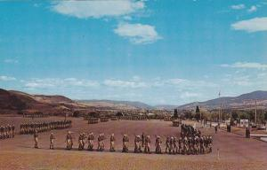March Past , Vernon Cadet Camp , VERNON , B.C. , Canada , 50-60s