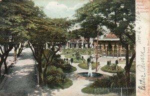 Plaza Prinzipal y Kiosko , PUERTO RICO, 1906 ; Ponce