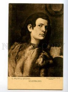 245662 Palma il VECCHIO Self-Portrait Painter Vintage Postcard