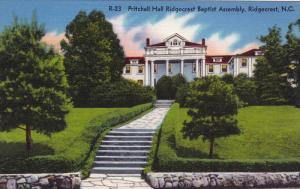 Pritchell Hall Ridgecrest Baptist Assembly, RIDGECREST, North Carolina, 1930-...