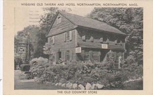 Massachusetts Northampton Wiggins Old Tavern and Hotel Northampton 1938