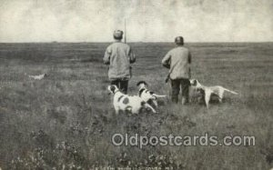 Chicken Shooting Cando, ND USA Hunting, Hunters, Unused light wear close to g...