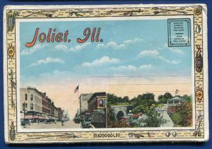 Joliet ILLinois il Cell House interior Chicago Street Library Postcard Folder