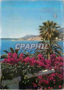Modern Postcard The wonderful sites of the French Riviera Menton (A M) Vue Ge...