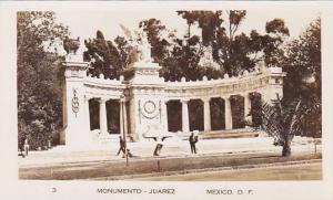 RP, Street view showing Monumento, Juarez,  Mexico, 30-40s