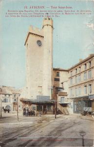 France Avignon Tour Saint Jean Tower Commerce Salon Shops
