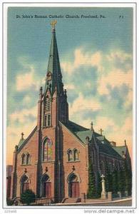 St. John's Roman Catholic Church , Freeland , Pennsylvania , 30s -40s