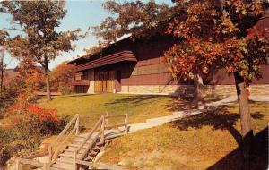 MORGANTOWN WEST VIRGINIA MONT CHATEAU LODGE~CHEAT LAKE  POSTCARD 1960s