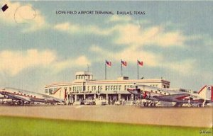 LOVE FIELD AIRPORT TERMINAL DALLAS, TX 1945