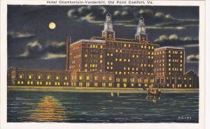 Hotel Chamberlain-Vanderbilt, OLD POINT COMFORT, Virginia, 1910-1920s