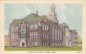 Assumption College, Windsor, Ontario, Canada, 1930-1940s