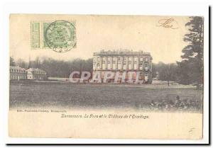 Belgium Bonsecours Old Postcard The park and the castle of & # 39Ermitage