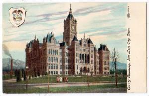 UT - Salt Lake City. County Building