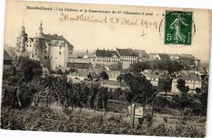 CPA MONTBÉLIARD - La Chatéeau et le Casernement du 21e Chasseurs a . (183013)