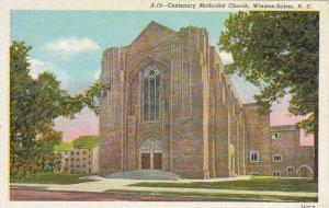 North Carolina Winston Salem Centenary Methodist Church Albertype