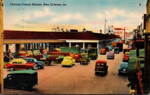 Louisiana New Orleans Famous French Market 1949