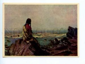 252010 UKRAINE Bezugly Mriya INDIA old postcard