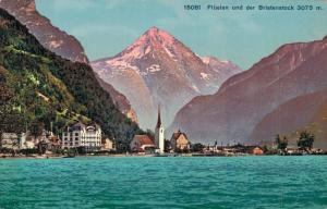 Switzerland - Flüelen und der Bristenstock 02.84